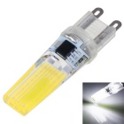 G9 3W 2508 COB 300-350lm 6000K White LED Light Bulb (AC 220V)