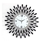 Water-Drop Diamond Decal Home Decor Frameless Wall Clock