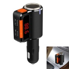 "1.0"" LCD Bluetooth V2.1 Handsfree Car Kit MP3 Player FM Transmitter w/ Cigratte Lighter Port"