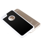 Selfie Anti-Gravity Protective TPU Back Case for IPHONE 6 PLUS - White + Black