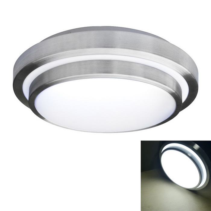 JIAWEN 18W 1440lm 6000K 36 x 5730 SMD LED White Ceiling Light - White + Silver (AC 85-265V)Ceiling Light<br>Form  ColorWhite + SilverColor BINWhiteQuantity1 DX.PCM.Model.AttributeModel.UnitMaterialAluminum + PlasticPower18WRated VoltageAC 85-265 DX.PCM.Model.AttributeModel.UnitEmitter TypeOthers,5730 SMD LEDTotal Emitters36Theoretical Lumens1440 DX.PCM.Model.AttributeModel.UnitActual Lumens1440 DX.PCM.Model.AttributeModel.UnitColor Temperature12000K,Others,6000-6500KDimmableNoBeam Angle180 DX.PCM.Model.AttributeModel.UnitExternal Diameter35 DX.PCM.Model.AttributeModel.UnitHeight9 DX.PCM.Model.AttributeModel.UnitPacking List1 x Ceiling Light<br>