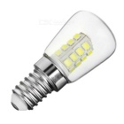 E14 3W 26-2835 SMD Cold White Light Mini Refrigerator / Bedside Light