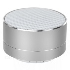 Phone Bluetooth V 3.0 Speaker Support Handsfree, TF Card for IPHONE 5 / 4S / 5S / 5C - Silvery White