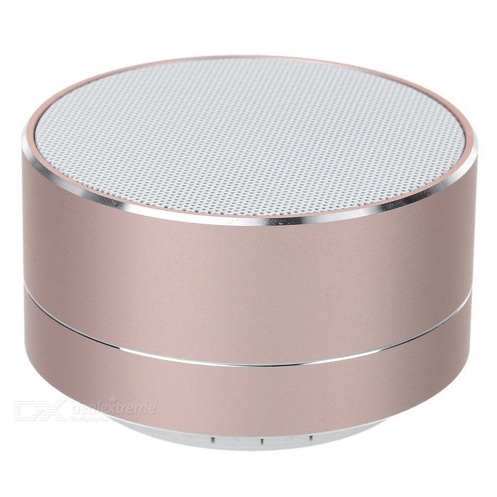 Phone Bluetooth V 3.0 Speaker Support Handsfree, TF Card for IPHONE 5 / 4S / 5S / 5C - Pink + Silver
