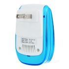 Multifonctionnel ultrasons Electronic Insects Killer - Blanc + Bleu (US Plugs)