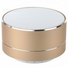 Phone Bluetooth V 3.0 Speaker Support Handsfree, TF Card for IPHONE 5 / 4S / 5S / 5C - Golden