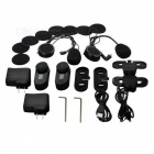 TCOM-SC 2 * 800m Moto Helmet Intercom Headset - Black (os EUA)