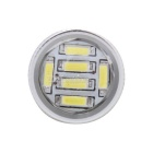 MZ T25 P27/7W 3157 10W Car LED Brake Light / Tail Lamp / Rear DRL White 54-4014 SMD 540lm (12V)
