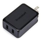 Tronsmart WC2F US Plugss 36W Qquick Charge 2 Ports Rapid Wall Charger - Black