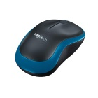Genuino Logitech Wireless Mouse M185 w / nano receptor - Azul + Negro