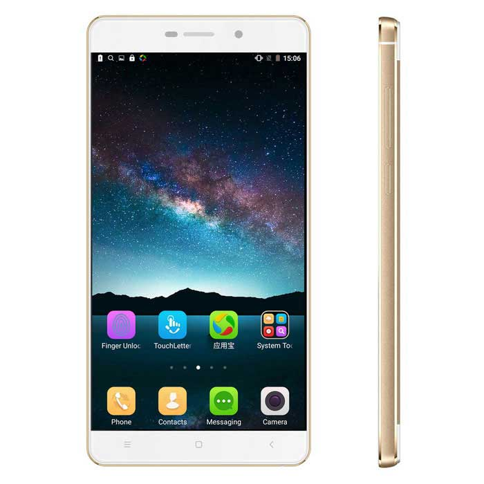 "VKWORLD Discovery S2 MTK6735A Android 5.1 4G Phone w/ 5.5"" FHDï¼?2GB RAMï¼?16GB ROMï¼?13MP - Golden"