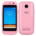 "Elephone Q Android 4.4 Dual-core 3G Mini Bar Phone w/ 2.45"" Screen, ROM 4GB, GPS - Pink"