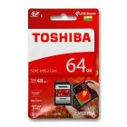 Toshiba SD Memory Card Exceria Class 10 UHS-1 (48mb/s) THN-N301R0640C4