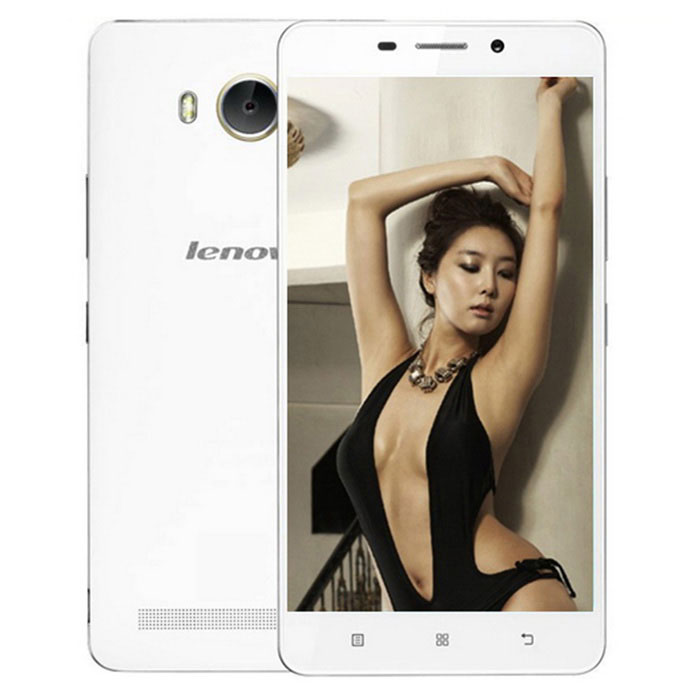 "Lenovo A5600 Quad-Core 5.5"" FHD Android 5.1 4G Phone w/ 1GB RAM, 8GB ROM, 8MP+2MP - White"