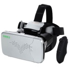 "RITECH RIEM3 VR 3D Glasses w/ Bluetooth Controller for 3.5~6.0"" Smart Phones - Black + Silver"