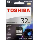 Toshiba THN-N401S0320A4 EXCERIA PRO 32GB SD Memory Card
