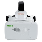 "RITECH RIEM 3 Virtual Reality VR 3D Brille mit Bluetooth Controller für 3,5 ~ 6,0 ""Smart Phones - Weiß"