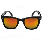Fold Sunglasses Coated Sunglasses - Black