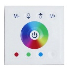 TMW01 DC 12V 192W DC24V 384W 4-CH 16A White Touch Panel Full Color RGB LED Controller