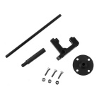 GPS Folding Antenna Mount Support Holder for QAV250 RC Multicopters - Black