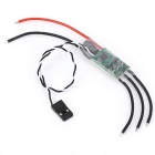 Mini 16A ESC 2-4S 20-499Hz Electric Speed Controller for Multi-rotor - Black + Green