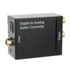Optisk Toslink koaksial digitale signaler til analoge Audio Converter % 28EU % 29