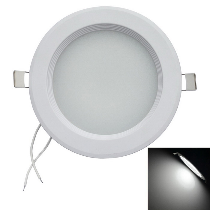 Jiawen 12W 1200LM 6500K 60-2835 SMD LED bianco Luce di soffitto (CA 85-265V)