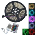JIAWEN 35W 300-5050 SMD RGB LED Light Strip w/ Remote Controller (DC 12V / 5m)