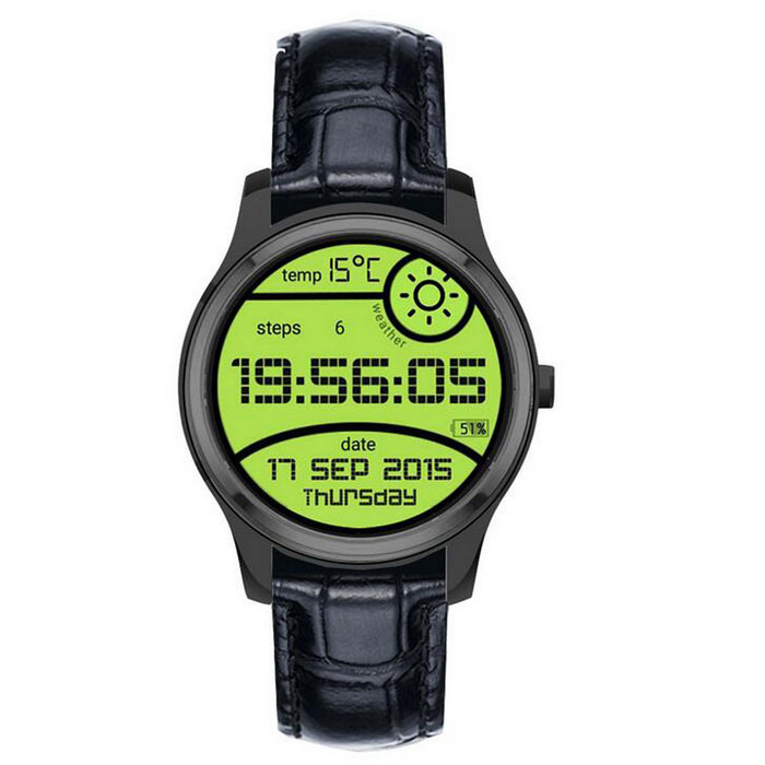 X1 Android4.4 MTK65723G Smart Watch w/ 1.3