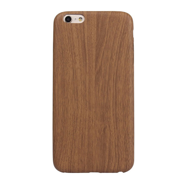 ASLING Thin Soft PU Back Case for IPHONE 6 PLUS / 6S PLUS - Dark Brown