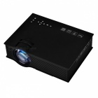 UC46 Mini Digital LCD 1080P HD Wi-Fi Projector Home Theater Projector w/ HDMI - Black