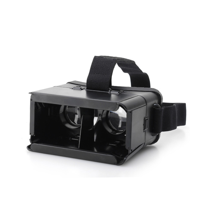 "3D VR Virtual Reality Glass for 4""~6"" Phone - Black"