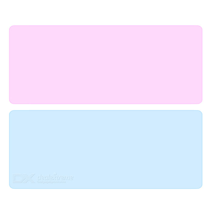 Universal Protective Waterproof Washable Silicone Keyboard Covers for APPLE Dell HP - Blue + Pink