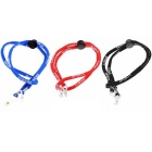 Letter Pattern Glasses Rope - Red + Blue + Black (3PCS)