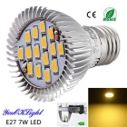 YouOKLight E27 7W 15-SMD 5630 600lm 3000K Warm White High Quality LED Spotlight (AC 85-265V)