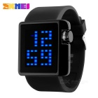 SKMEI 1145 50m Waterproof LED Watch - Black (1 x CR2016)
