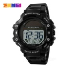 SKMEI 1129 50m Waterproof PU Band Solar Power Outdoor Sports Watch