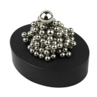 Magnetic Force Interest Puzzle Steel Ball Toys - Black + Silver