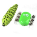 Remote Control Electron Pet Mechanics Insect - Green + Black
