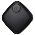 Sem fio Bluetooth 4.0 inteligente Anti-Lost Alarm localizador w / Remote selfie / gravação / Local - Preto