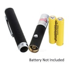 1mW 650nm Red Laser Pointer Pen - Black + Silver