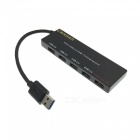 Cwxuan 5Gbps 4-Port USB 3.0 HUB - Black