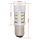 MZ 1157 P21/5W BAY15D 8W Car LED Brake Light / Driving Lamp / Tail Light White 42-4014 SMD 420lm