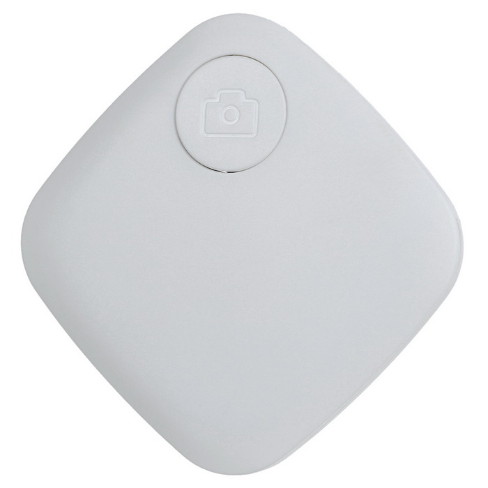 Wireless Bluetooth 4.0 Smart Anti-Lost Alarm Finder w/ Remote Selfie / Recording / Location - White