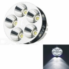 CARKING 15W 900lm 5-White Light + 5 Blue LED Decoration Light Motorcycle Headlamp (12V~80V)
