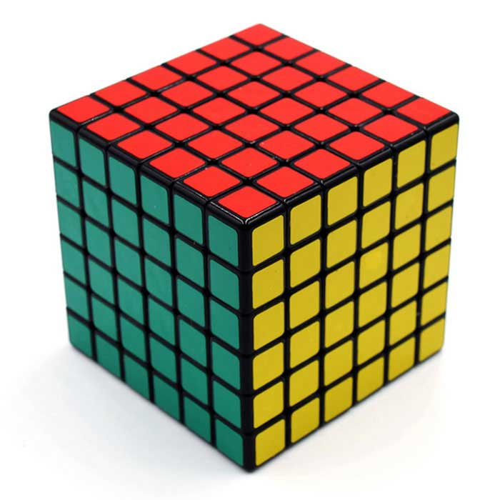 6x6x6 Square Magic IQ Cube - Red