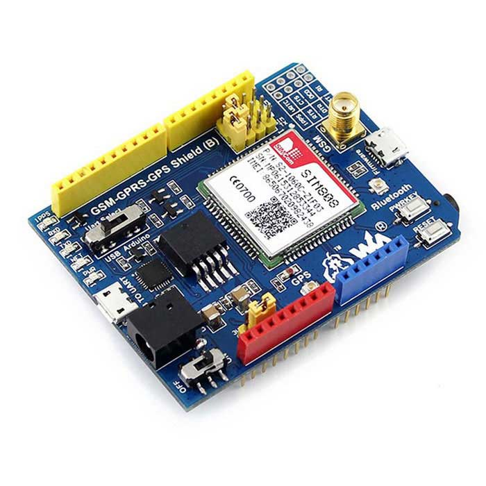 Waveshare sim gsm gprs gps g shield for arduino