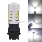MZ T25 P27W 3156 8W Car LED Reverse Lamp / Backup Light / Tail Light White 42-4014 SMD 420lm (12V)