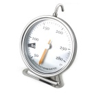 Circular Hook Oven Baking Mechanics 50~280'C Thermometer - Silver + Black + Multicolor