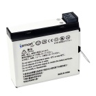 Ismartdigi 3.8V 1160mAh Battery + USB Charger for GoPro 4 - White + Black + Multicolor